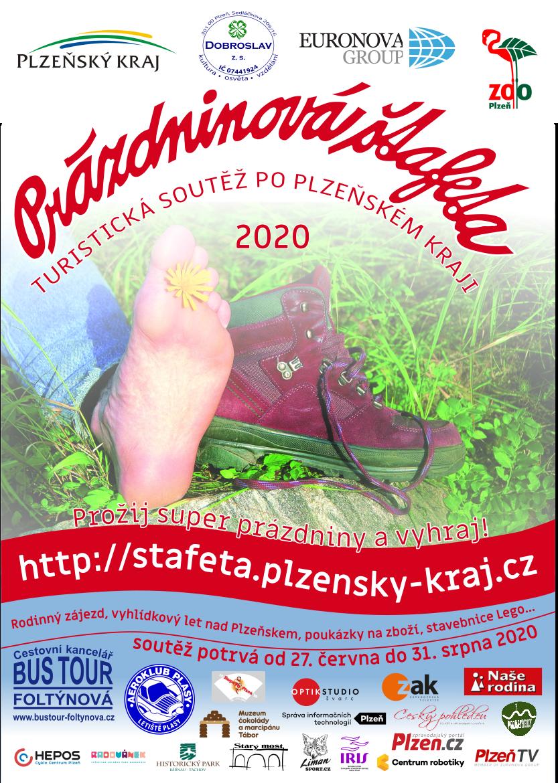 Prázdninová štafeta 2020